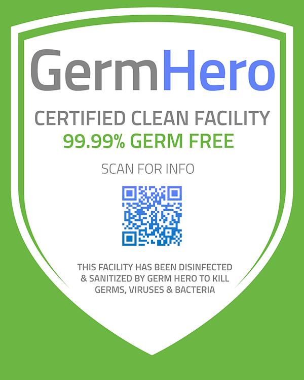 Germ Hero Verified Shield