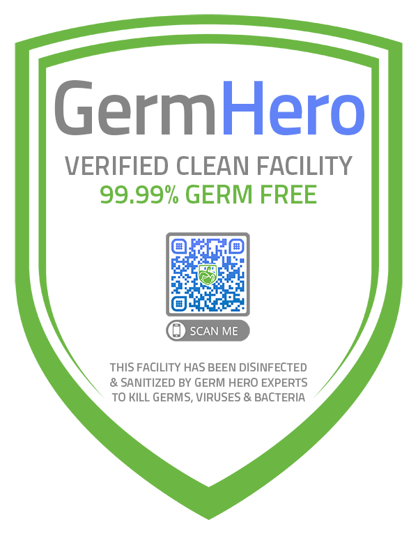 Germ Hero Verified Shield Official