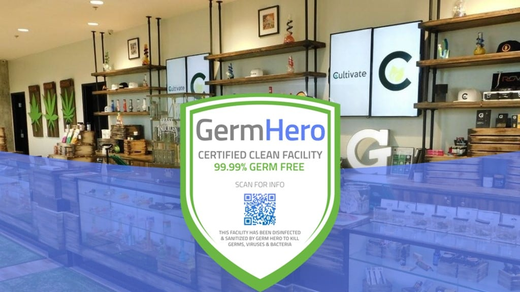 Cultivate is Germ Hero Verified