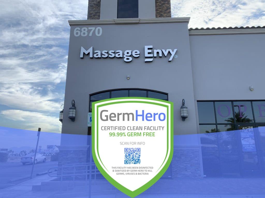 Massage Envy Germ Hero