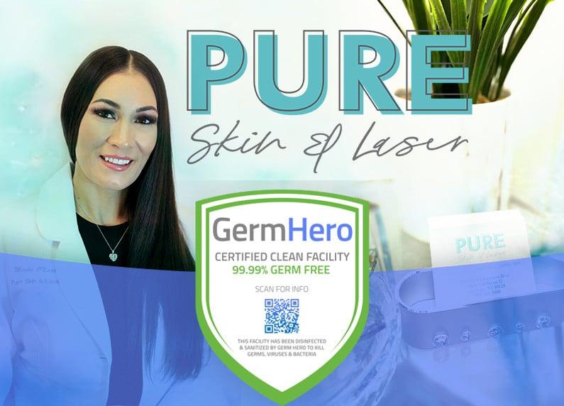 Pure Skin Laser Las Vegas Germ Hero Verified