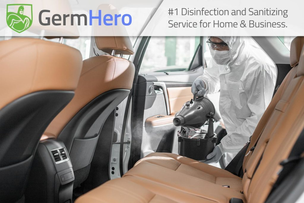 Germ Hero Disinfecting Car