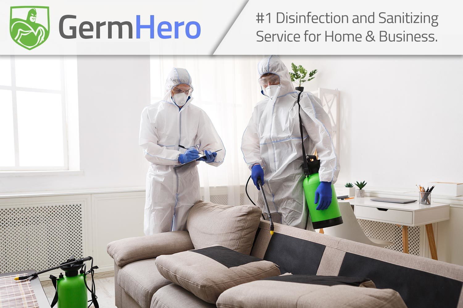 Germ Hero Disinfecting Home Residence