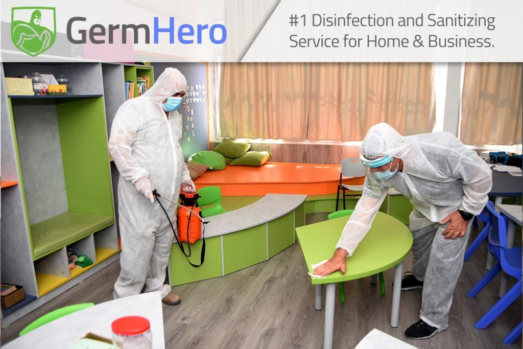 Germ Hero Disinfecting School Classroom Education Community Center