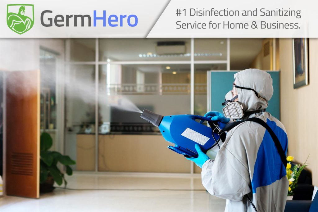 Germ Hero Disinfecting Office Commercial Space