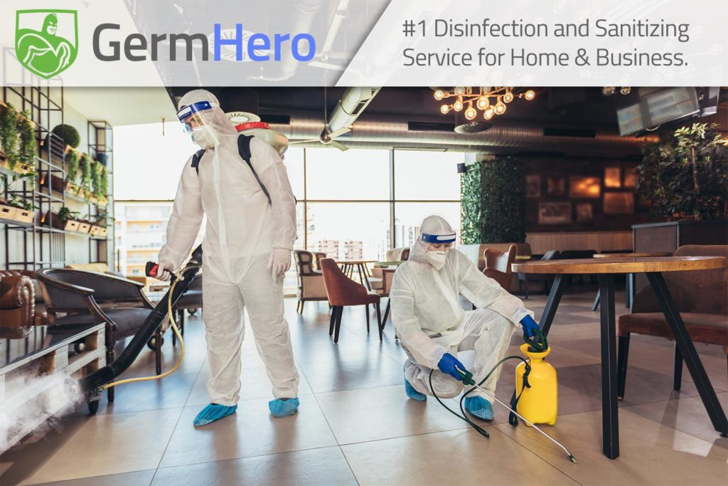 Germ Hero Disinfecting Restaurant Bar Cafe