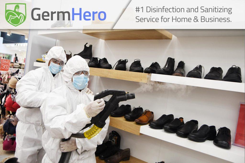Germ Hero Disinfecting Retail Store Shop