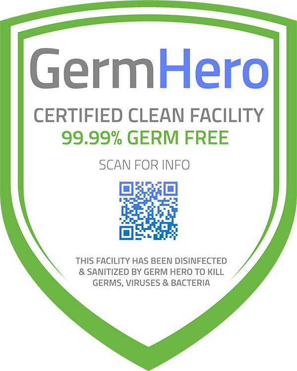 Germ Hero Certified Shield