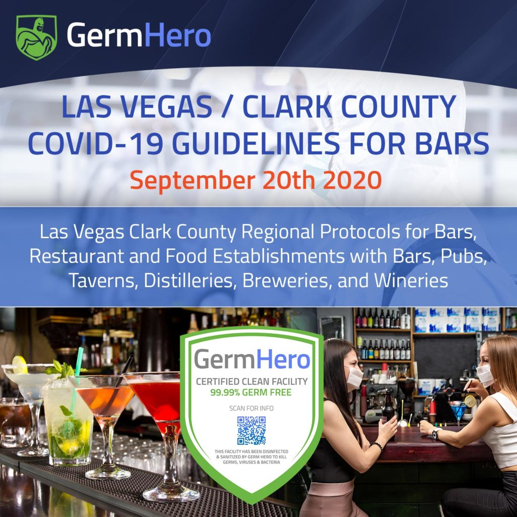Las Vegas Clark County Covid19 Guidelines For Bars Sep 20 2020