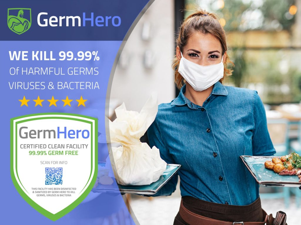 Germ Hero Restaurant Disinfection and Sanitizing