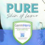 Pure Skin and Laser Las Vegas is Germ Hero Verified