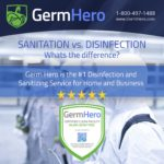 Sanitation vs. Disinfection