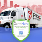 Fox Freight Las Vegas Office is Germ Hero Certified 99.99% Germ-Free Facility.