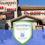 Giuseppe's Bar & Grille – Las Vegas is Germ Hero Certified 99.99% Germ-Free Facility.