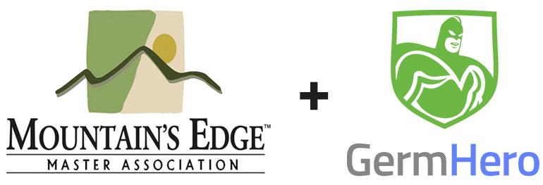 Mountains Edge and Germ Hero Partnership
