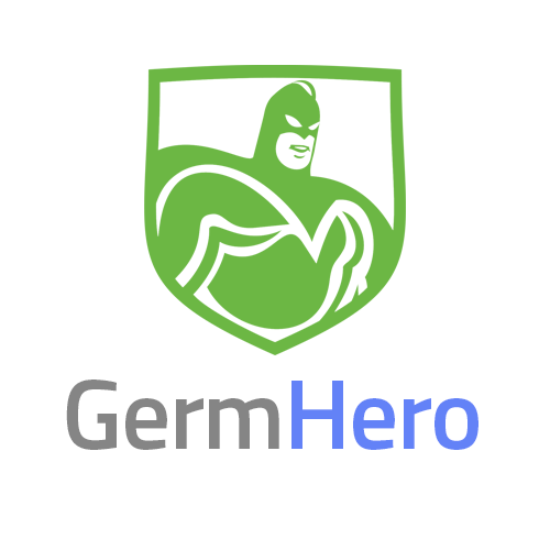 Germ Hero Logo White Background