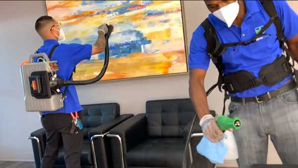 Residential Disinfection Service